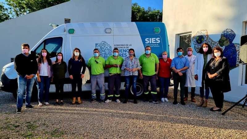 Nueva Ambulancia UTIM y Ampliación del Laboratorio del Hospital San José