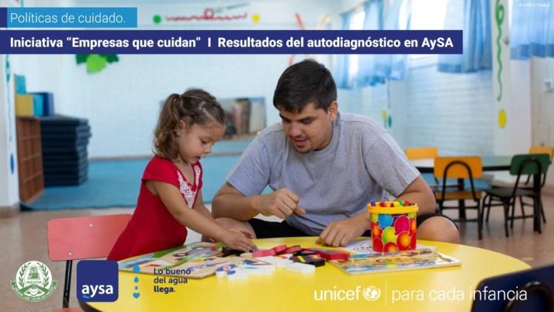 AySA trabaja en conjunto con UNICEF para fortalecer las políticas de género de la empresa