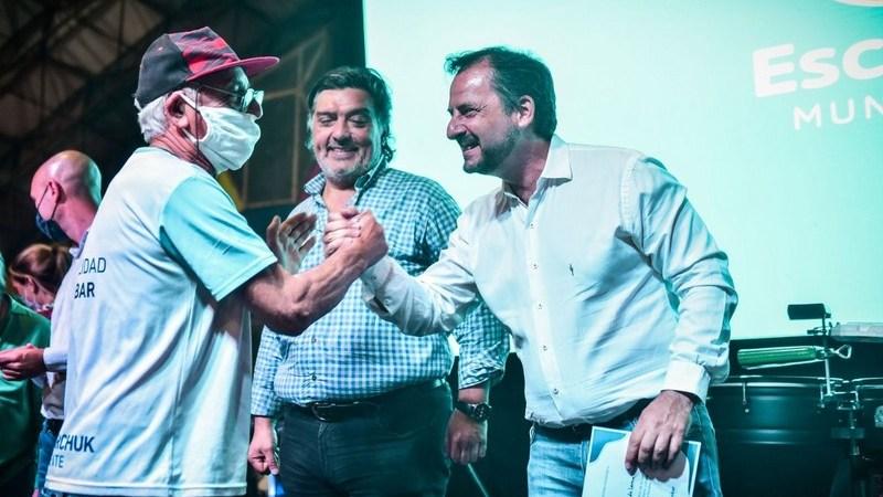 Ariel Sujarchuk reconoció el trabajo de referentes y referentas de los merenderos del partido de Escobar