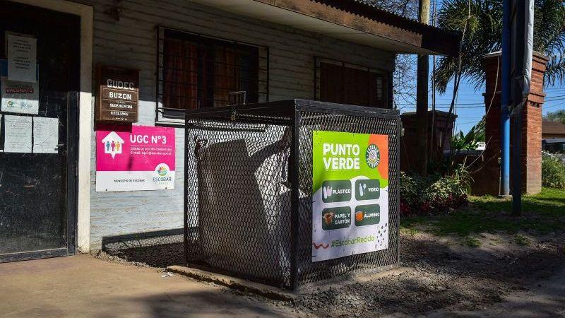 Más Sostenible: la Municipalidad de Escobar incorporó nuevos puntos verdes en el distrito
