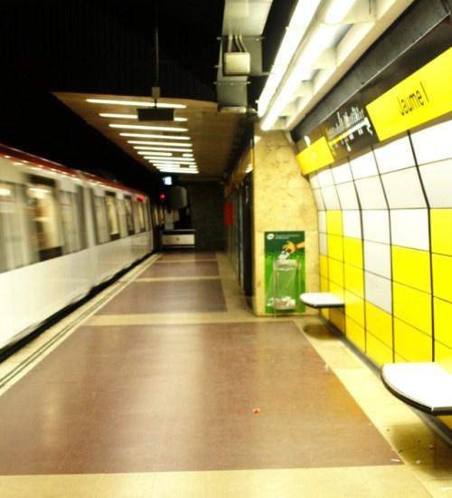 Jaume l Barcelona Metro Station