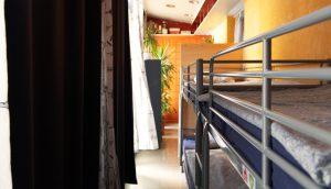 hostel dormitory room