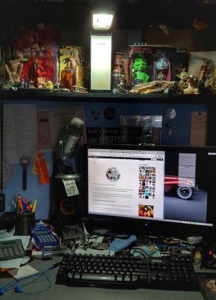 The (Messy) Desk of Anthony Stevens
