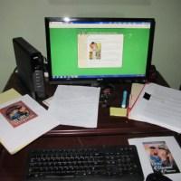 What's on your desk, Wednesday? #AuthorSpotlight Kelli A. Wilkins @KWilkinsauthor