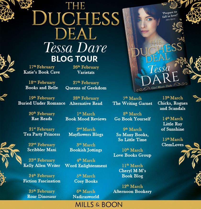 Duchess Deal Blog Tour Banner