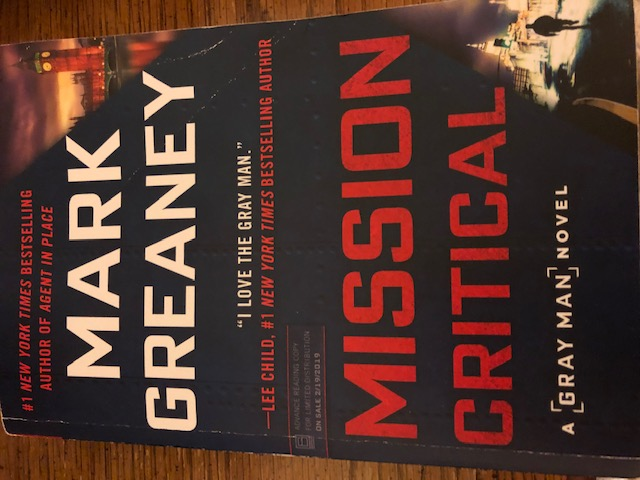 Mission Critical by Mark Greaney on Alternative-Read.com
