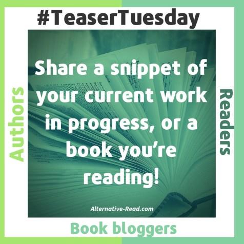 Teaser Tuesday | Alternative-Read.com