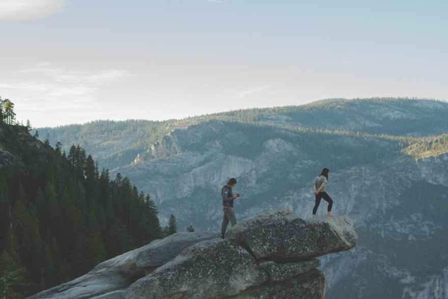 adventure mountain nature people