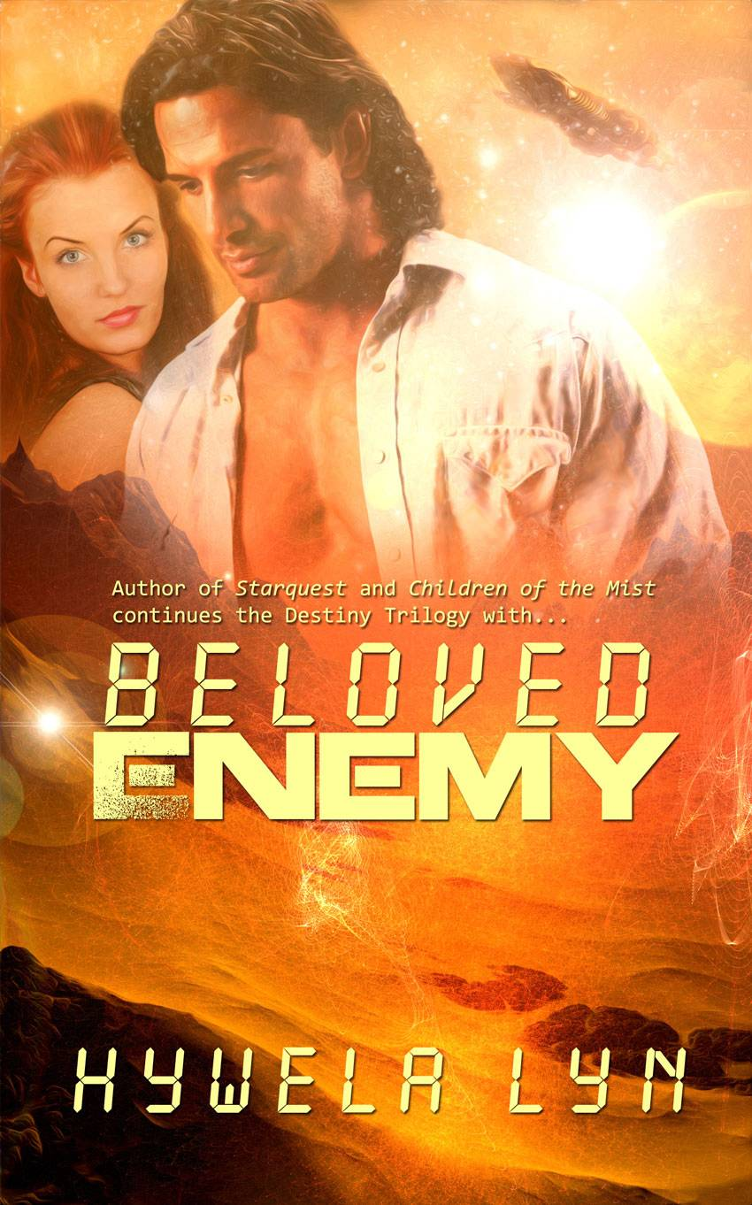 Beloved Enemy - book 3 in the Destiny Trilogy S.F. Romance.