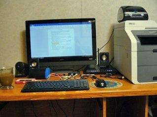 Maggie Blackbird's desk on Alternative-Read.com