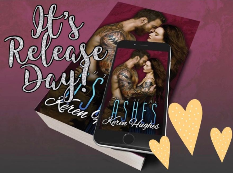 Release Day of Out of the Ashes by Keren Hughes