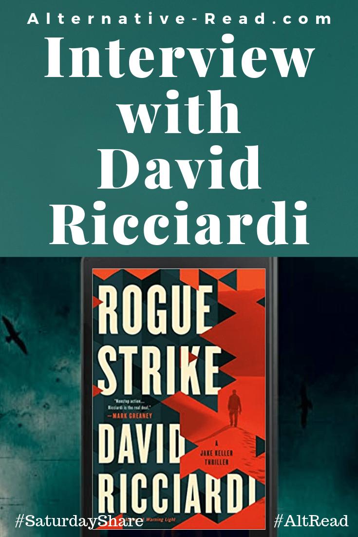 Saturday Spotlight Interview with David Ricciardi
