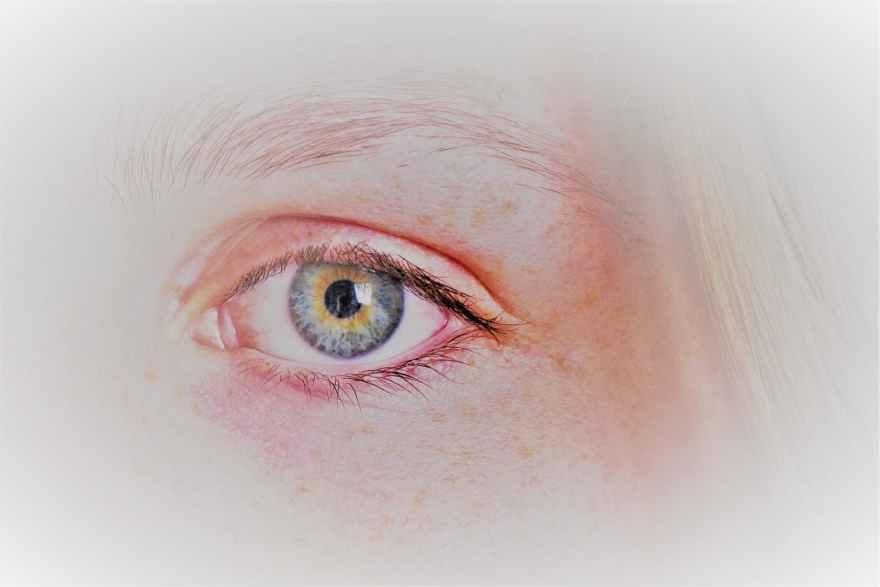 human eye painting