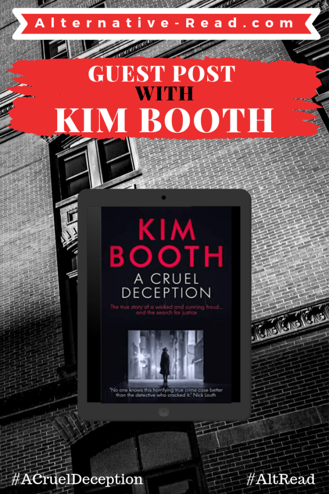 A Cruel Deception #Blogtour with #author Kim Booth
