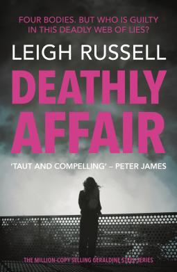 Deathly Affair - CWW WOW #LeighRussell #series #thriller #DeathlyAffair #NetGalley
