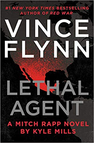 Vince Flynn's Lethal Agent by Kyle Mills harkens back to earlier Mitch Rapp books. #SaturdaySpotlight #Interview with New York Times bestselling #author #KyleMills @KyleMillsAuthor #SaturdayShare #thriller