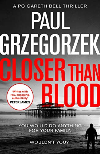 Closer than Blood Blog Tour with Paul Grzegor #crime #suspense #review #tour