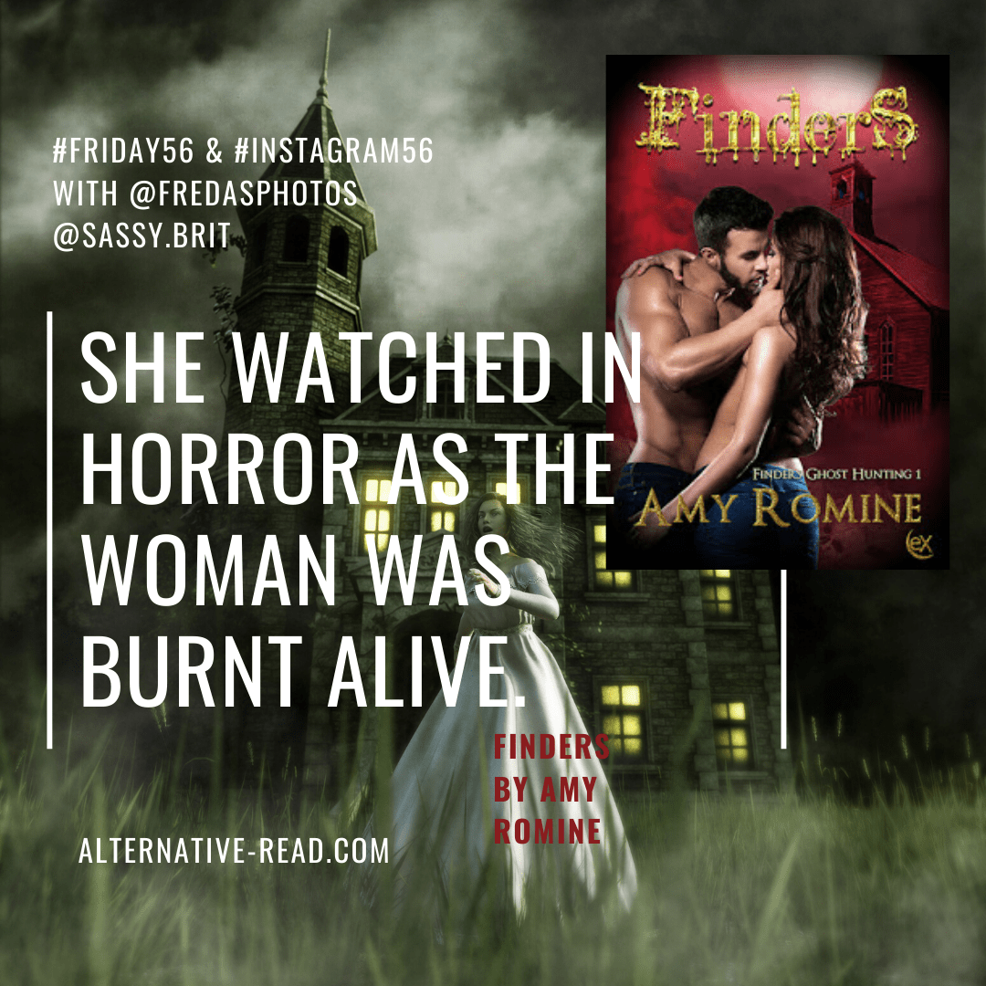 Friday56 - Instagram56 - Finders by Amy Romine -PINTEREST #romance #horror #ghosthunting