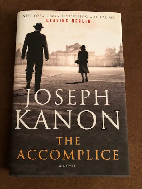 The Accomplice by Joseph Kanon Instagram