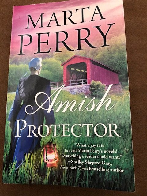Amish Protector by Marta Perry - Book Cover