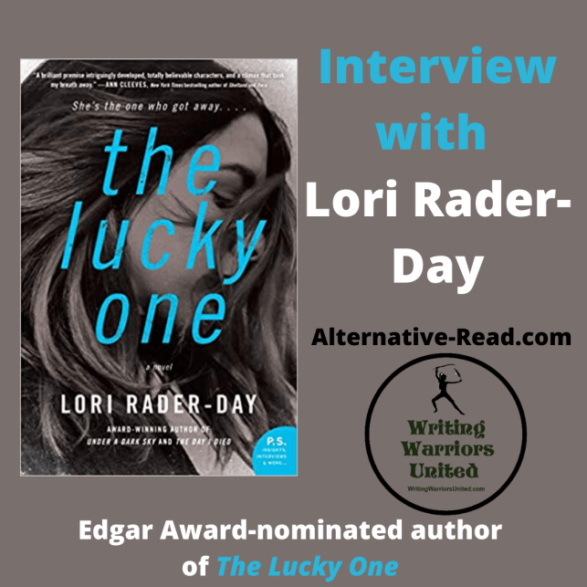 Interview with Edgar Award-nominated author of The Lucky One