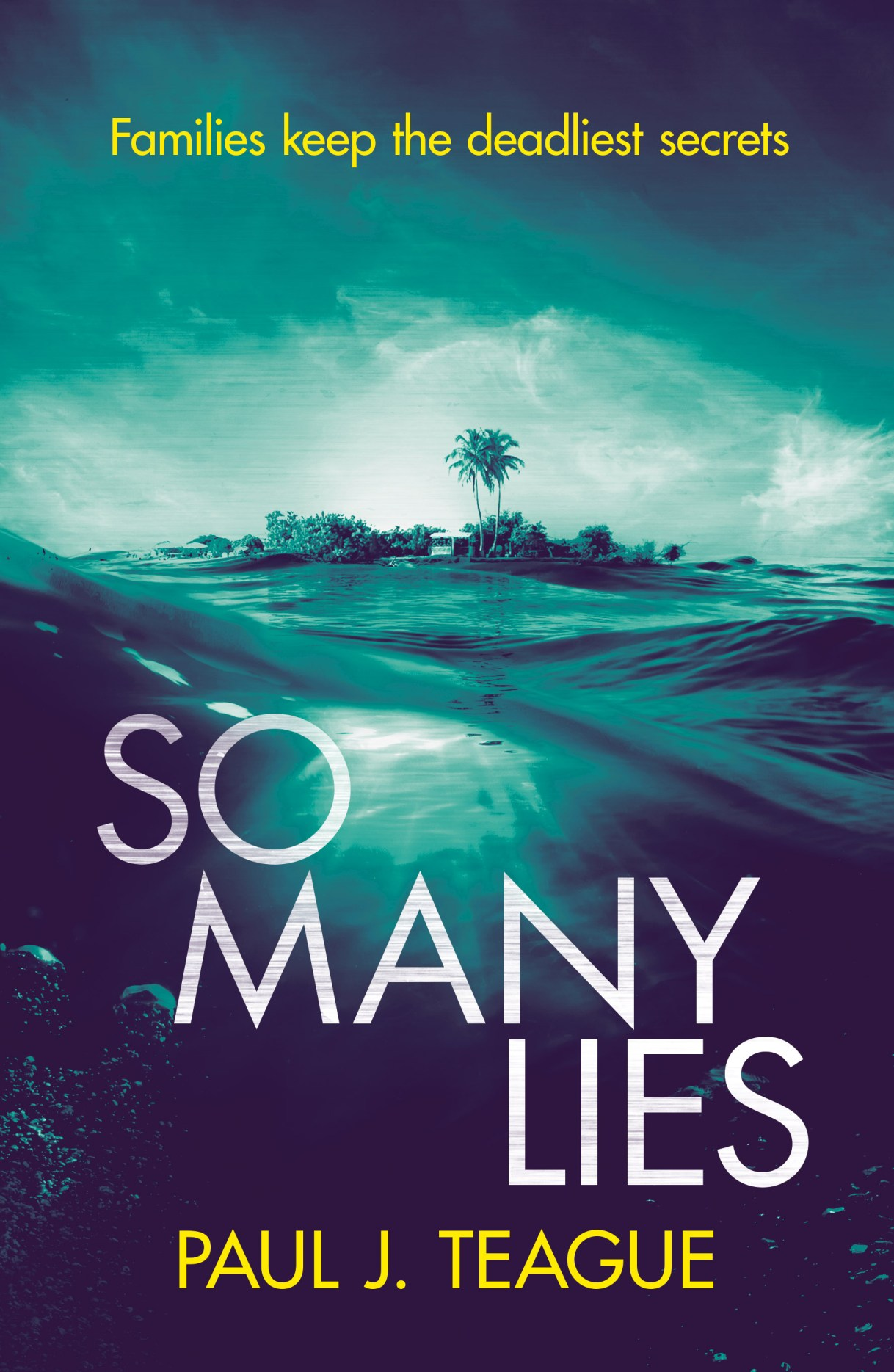 So Many Lies by Paul J. Teague - Book tour