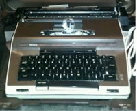 A Sears Typewriter owned by Nathan Everett