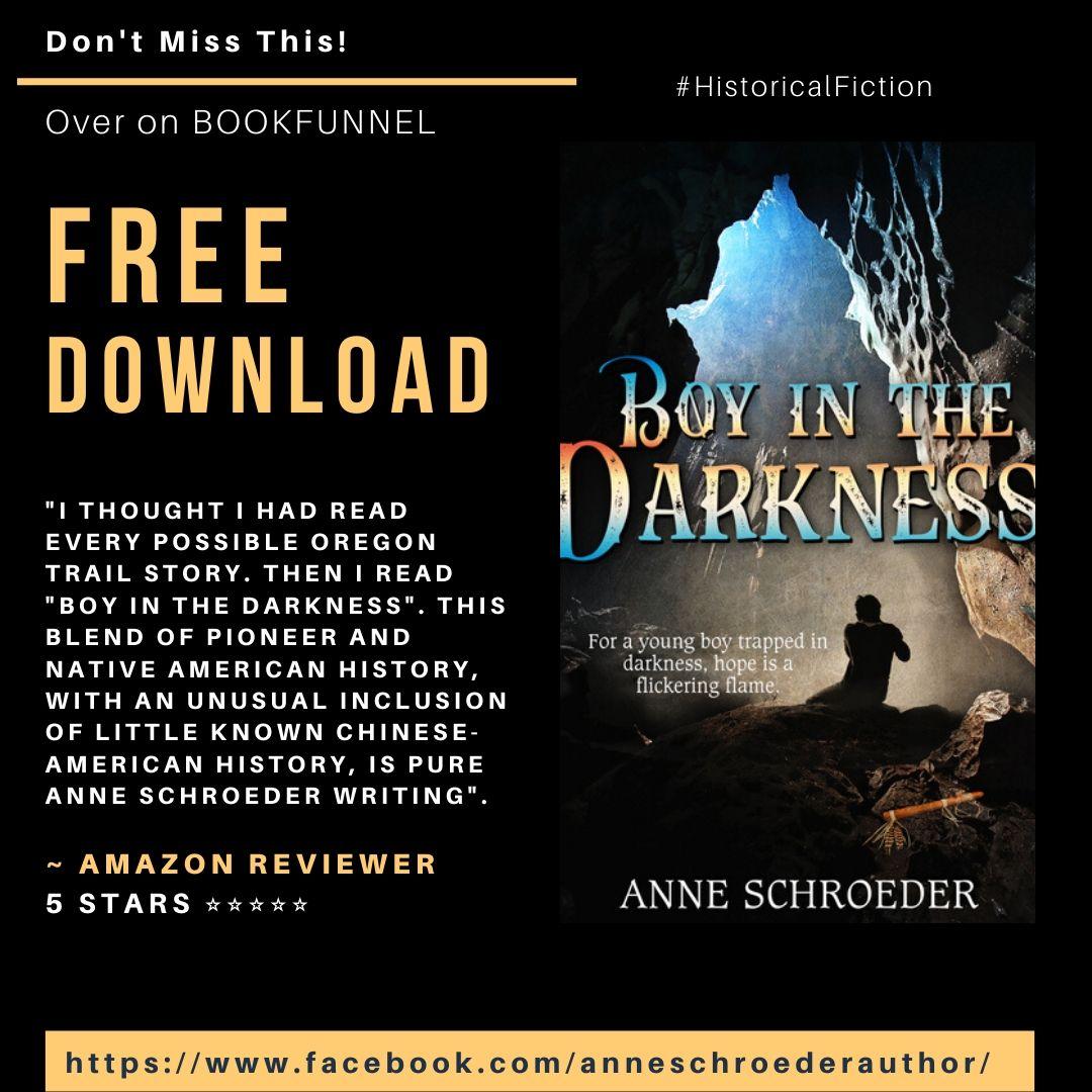 Anne - Boy In Darkness - Free Bookfunnel download Instagram Post