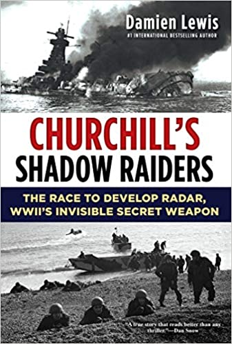 Churchill's Shadow Raiders by Damien Lewis Book Cover