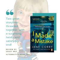 I Made A Mistake by @JaneCorryAuthor  #Review #IMadeaMistake #NetGalley Publication  Day! #ReleaseDay