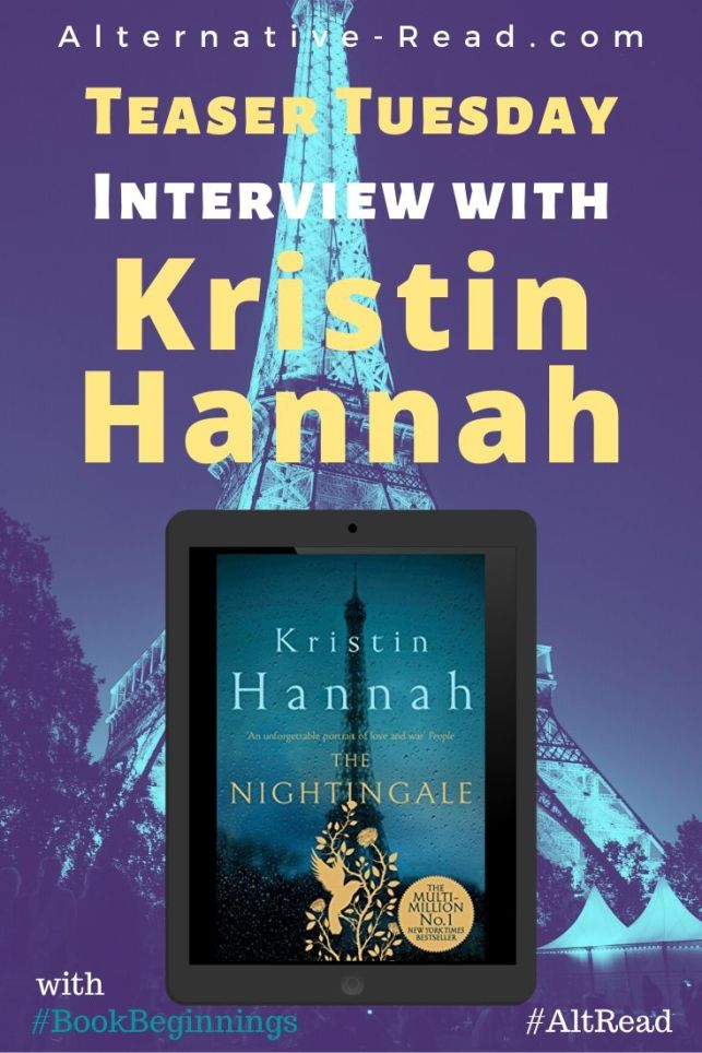 Kristin Hannah Talk Tuesday Chat - The Nightingale