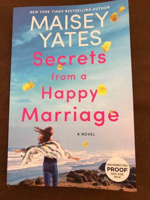 Secrets from a Happy Marriage by Maisey Yates #novel #MaiseyYates #bestsellingauthor