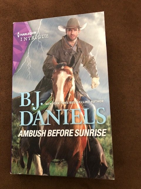 Ambush Before Sunrise by B.J. Daniels - front cover