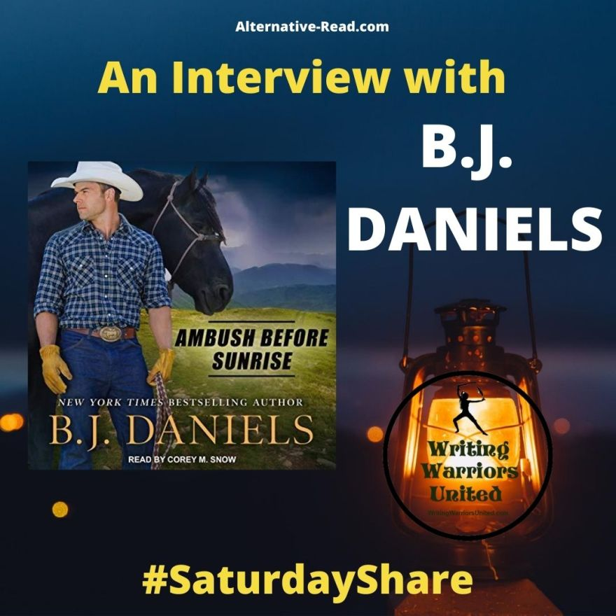 An interview with New York Times Bestselling author BJ DANIELS #SaturdayShare
