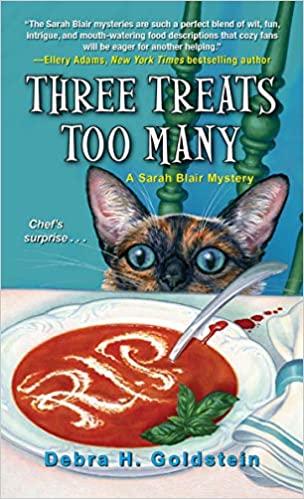 Three Treats Too Many by Debra Goldstein - Amazon Cover