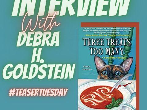 Three Treats Too Many by Debra Goldstein - chapter one- Instagram Post