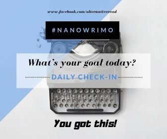 NaNoWriMo Daily Check in!