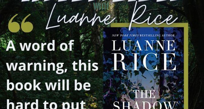 Luanne Rice Interview - Instagram Post