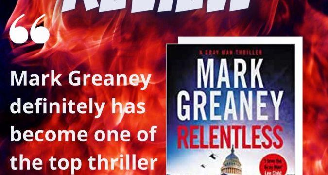 Mark Greaney Relentless Instagram Post