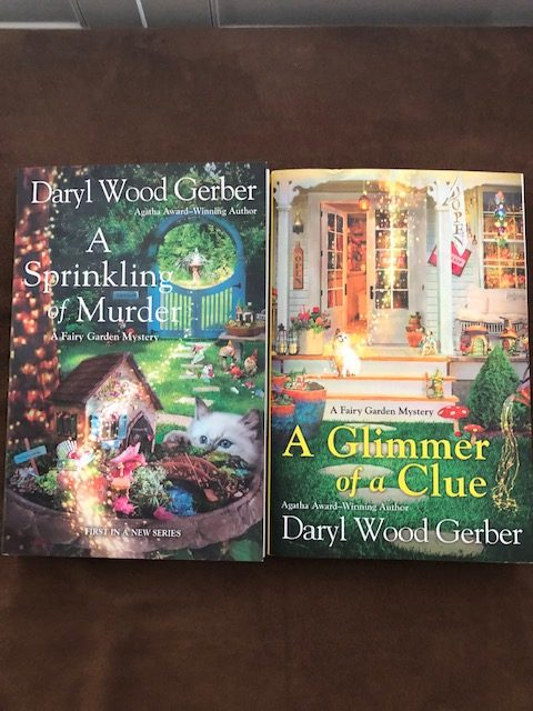 A Sprinkling of Murder and A Glimmer of A Clue by Daryl Both books together  Wood Gerber