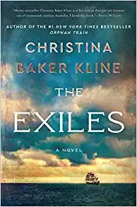 The Exiles by Christina Baker Kline Amazon Book HARD Cover