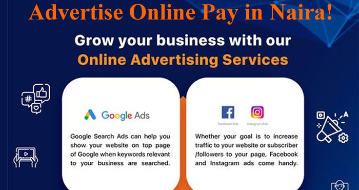 advertise online pay in naira