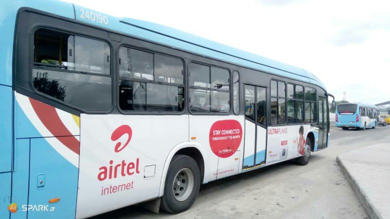 placing ads on brt buses