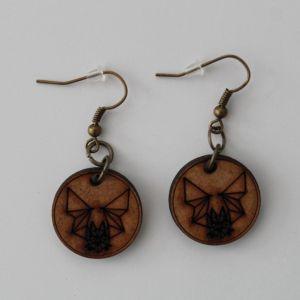 Fledermaus Ohrringe By Metraeda