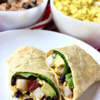 Vegan Breakfast Burritos (Make Ahead Option)
