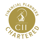 Charlie Reading Intelligent Portfolios Cost of Divorce Chartered Financial Planner logo