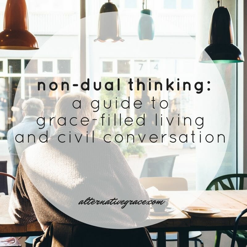 An introduction to the brilliant concept of non-dual thinking + practical tips on how we can apply it in our lives.