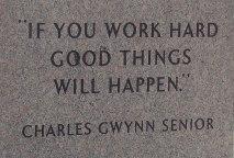 If you work hard...