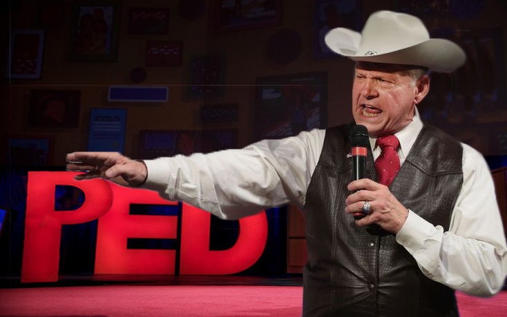 "Judge Roy Moore To Travel Country, Giving ""PED Talks"""