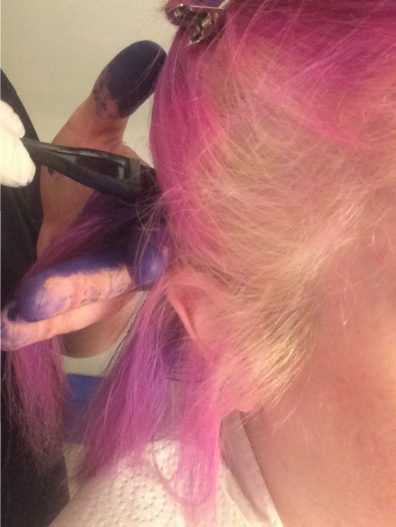 hair dye, dye, coloured hair, hair colour